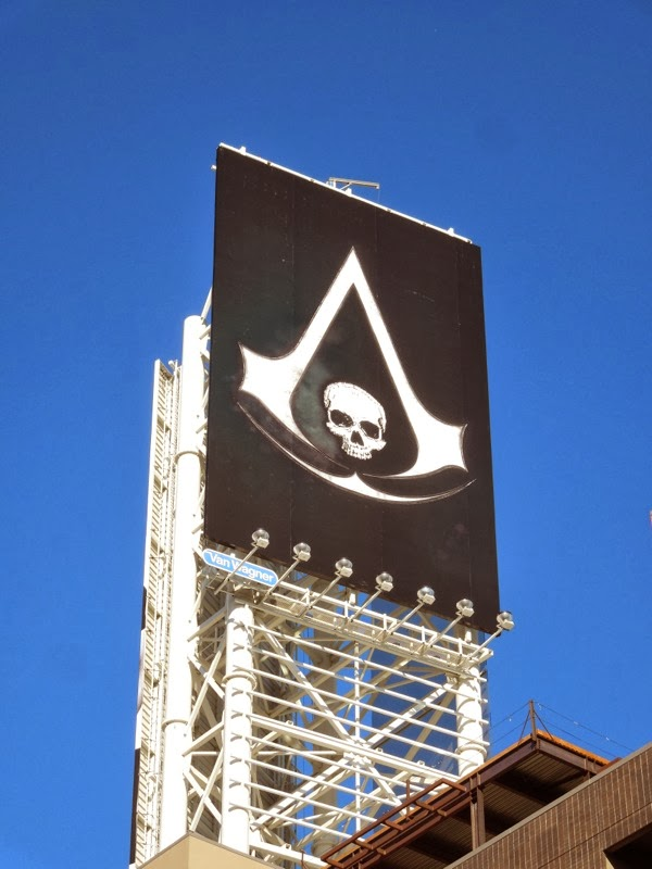 Assassins Creed IV Black Flag billboard