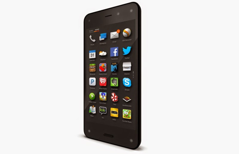 AMAZON FIRE PHONE A FIRST AMAZONS SMART MOBILE