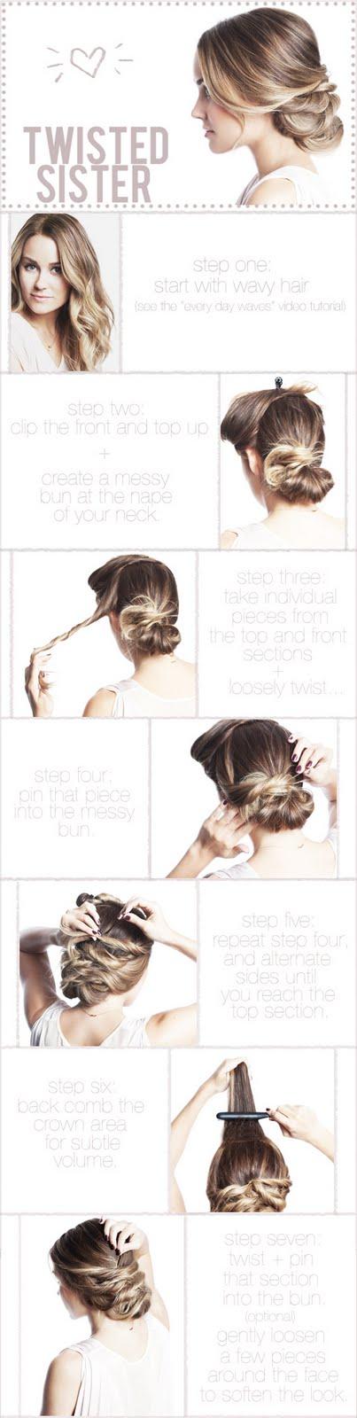 semplicemente perfetto acconciatura capelli tutorial hair raccolto