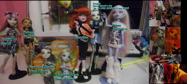 Mis muñecas Monster High