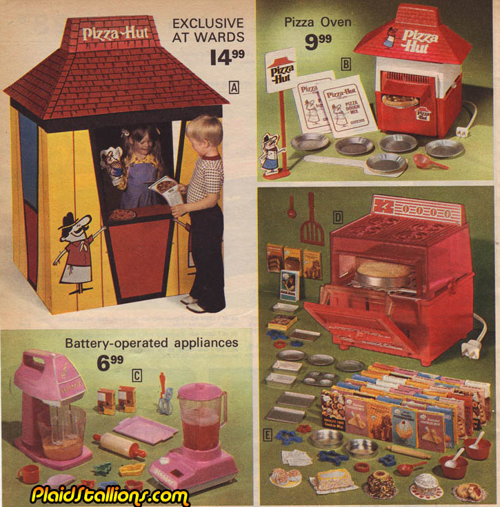 Pizza Hut Toys : Plaid stallions rambling and reflections on s pop
