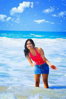 Chathu Paba wet hot beach