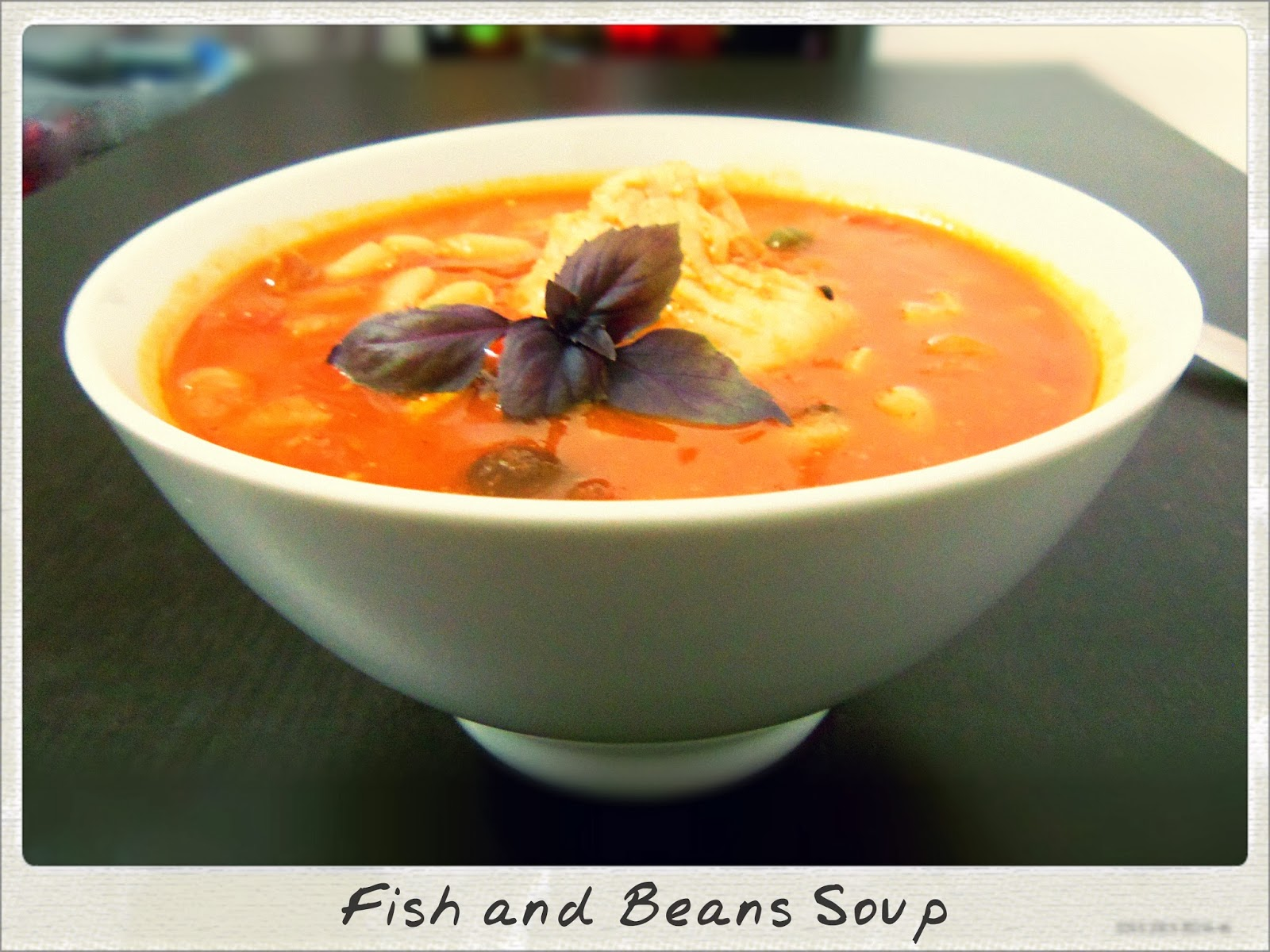 You've Got Meal!: Comfort Food: Fish and Beans Soup | You've Got Meal!