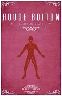emblema casa Bolton - Juego de Tronos en los siete reinos
