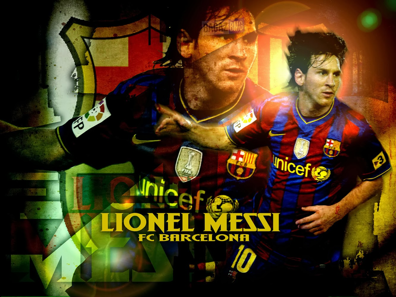 Lionel Messi Barcelona New HD Wallpapers 2013-2014