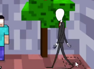 Slenderman Saw Game