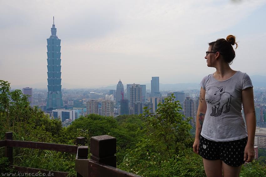 KuneCoco • Elephant Mountain, Taipei Taiwan • Aussichtsplattform