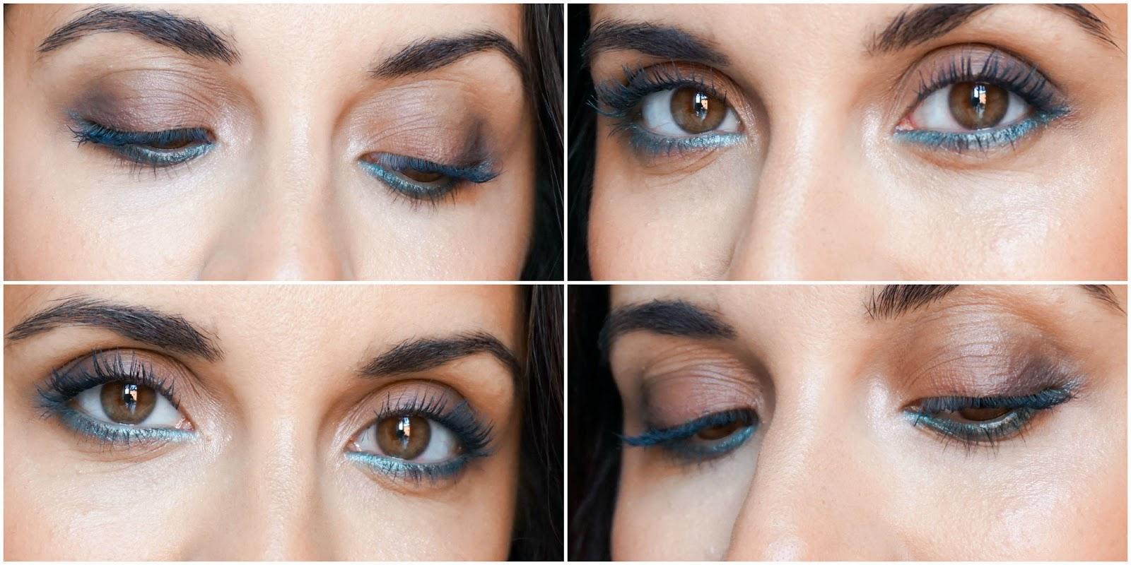 Aquatic Green Makeup Look, CLARINS