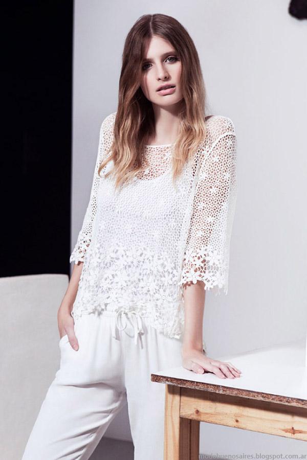 Blusas de Moda Primavera Verano 2015 Blusas Primavera Verano 2015