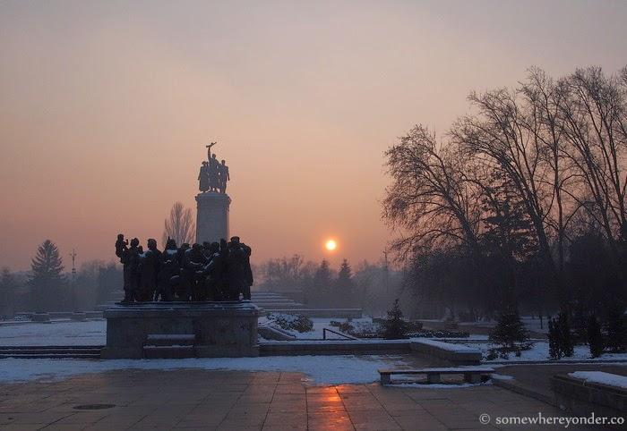 Soviet Army Monument - Sofia, Bulgaria