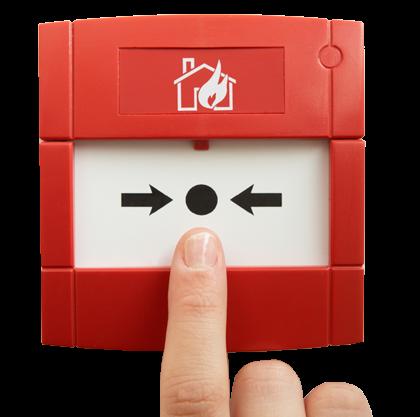 Pożytek z alarmu pożarowego płynący - czyli kto jeszcze mieszka w naszym compoundzie.