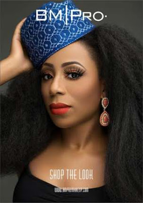 Dakore Akande Glows As The Latest Face Of BM|Pro Covers.