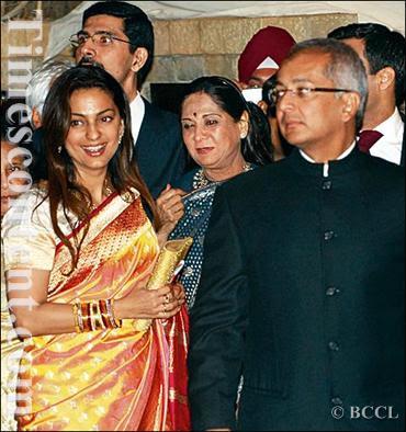 Juhi Chawla Wedding Pictures