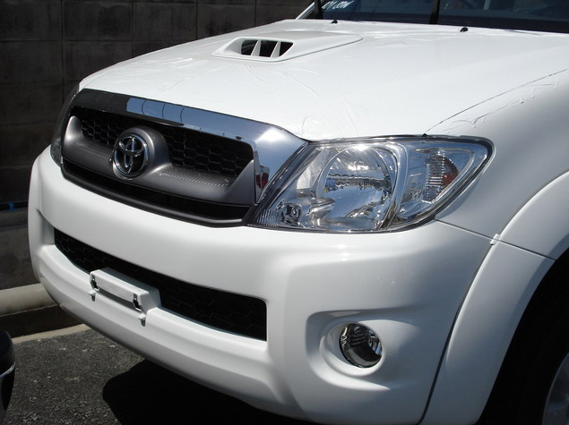 toyota Hilux Vigo 2011 2010 Double Cab available in white color colour