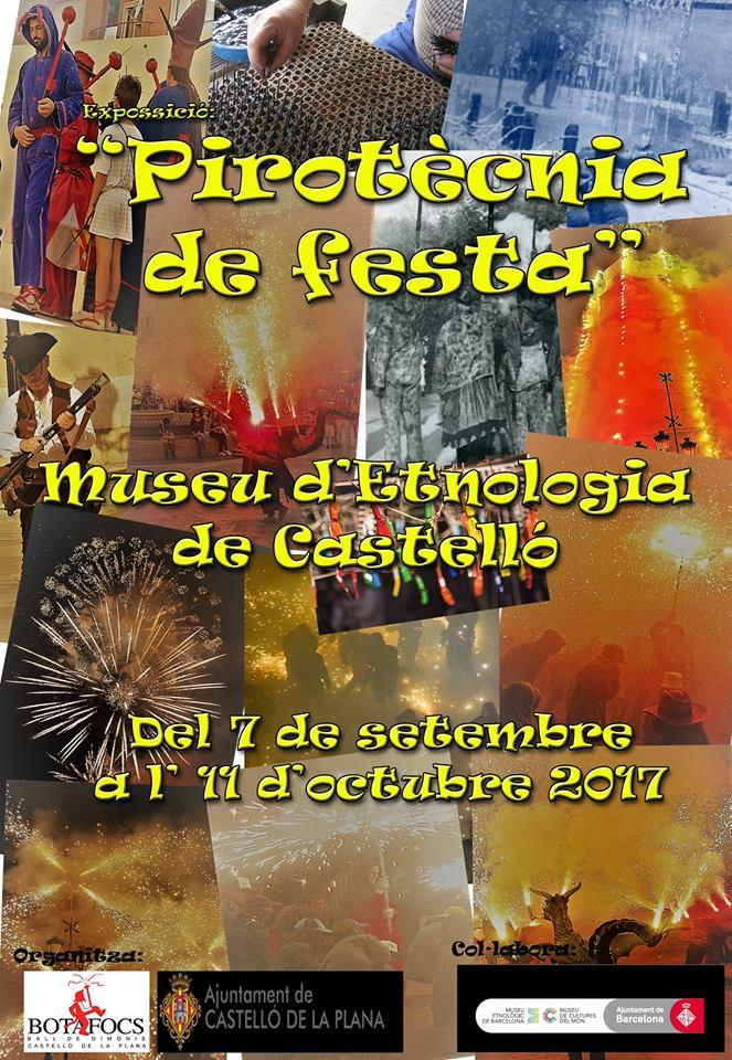 """PIROTÈCNIA DE FESTA EXPOSICIÓ """"Botafocs"""""""