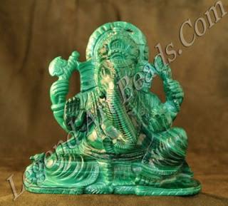 Ganesha malachite