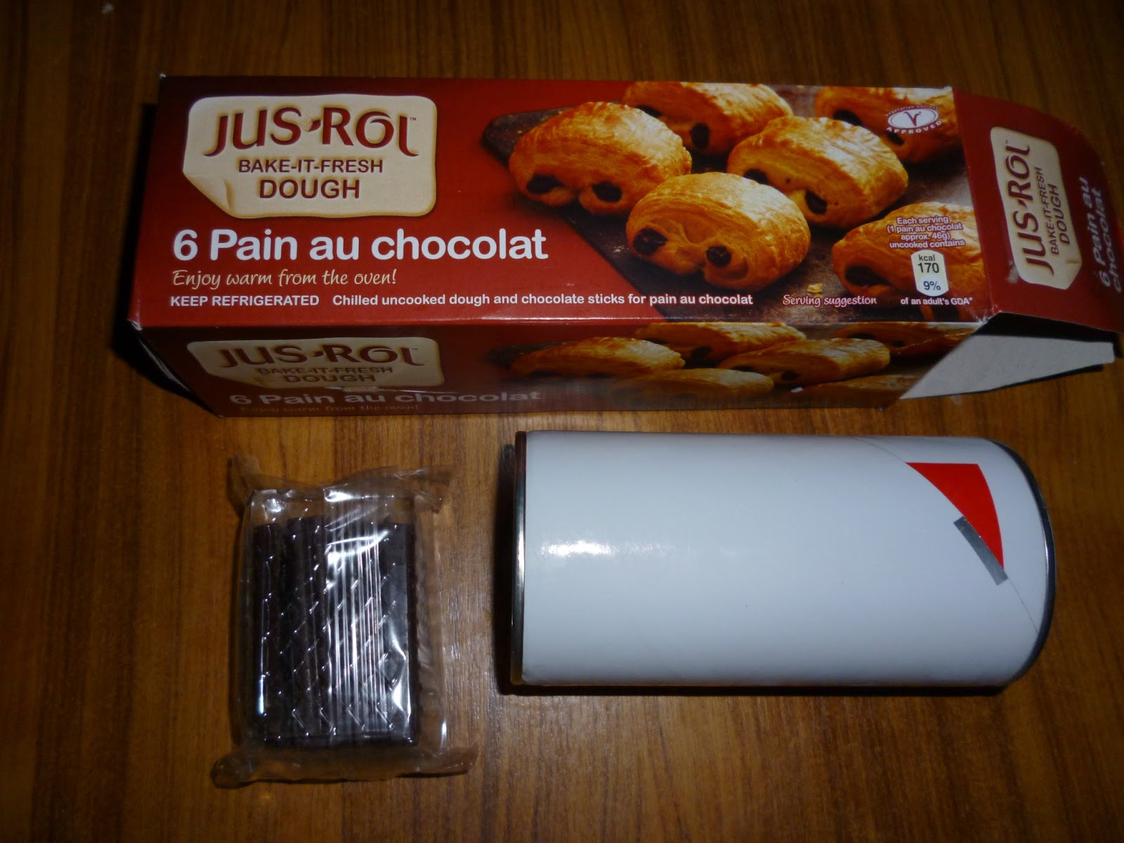 Jus Rol Pain au Chocolat Baked Pain au Chocolat