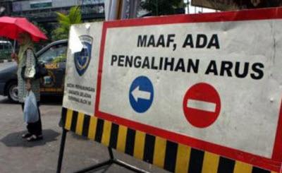 Ini Dia Pengalihan Arus Lalu Lintas Jakarta