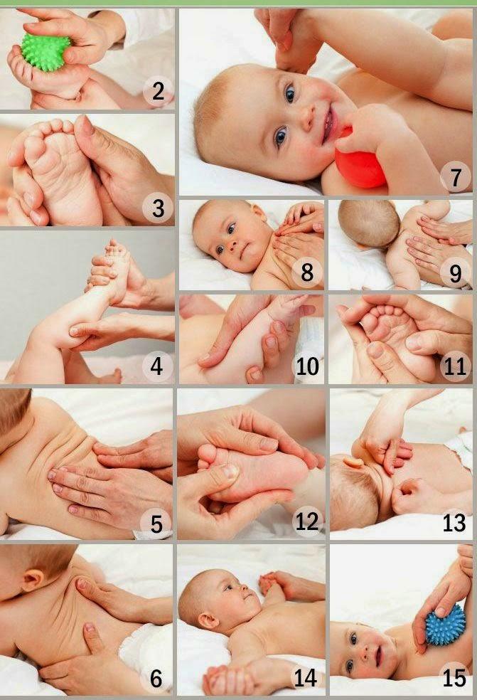 Как сделать массаж новорождённым 138