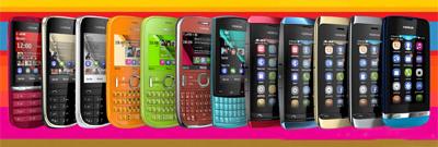 Nokia asha s40 y touch