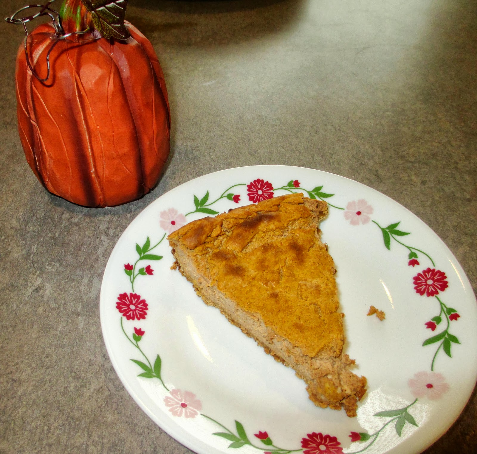 Low-Fat Pumpkin Cheesecake