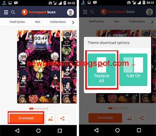 download tema naruto
