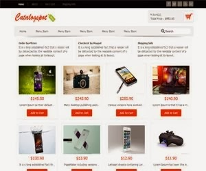 Revo Catalogspot eCommerce Blogger Template   Blogging Academy ...