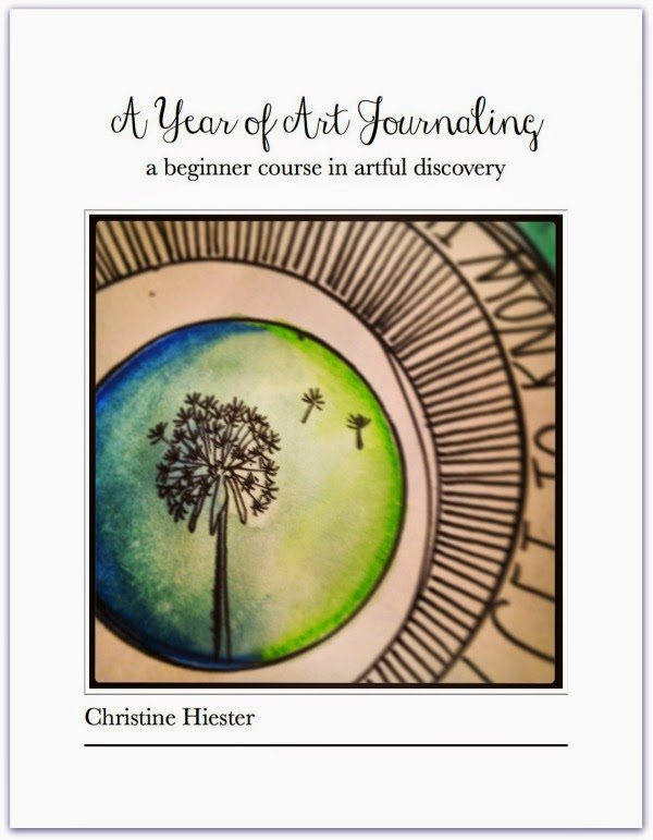 A Year of Art Journaling ebook