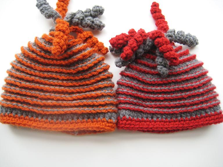 crochetroo: Frog Beanie for a dorky kid (free crochet pattern)