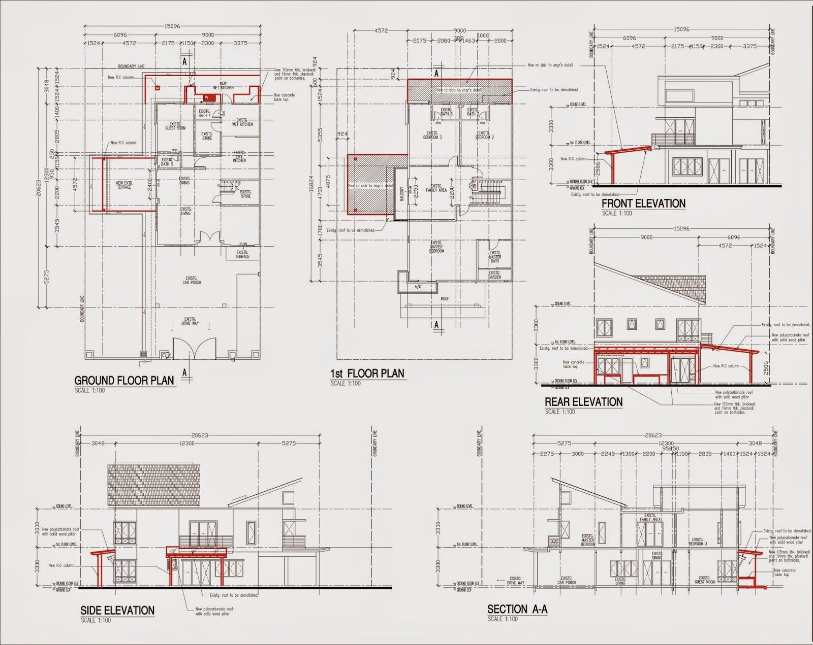 Lukis pelan kelulusan dan rekabentuk rekabentuk pelan for Plans d arkitek