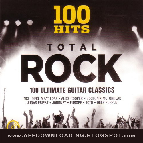 100 Hits: Total Rock – [5 Discos] – 2015