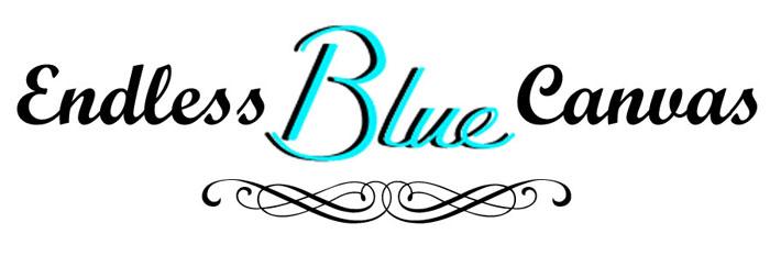 Endless Blue Canvas