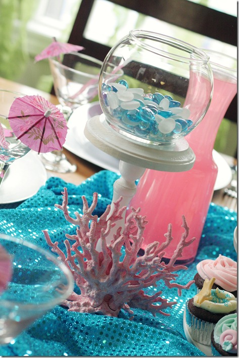 Mermaid party ideas design dazzle for Ariel decoration