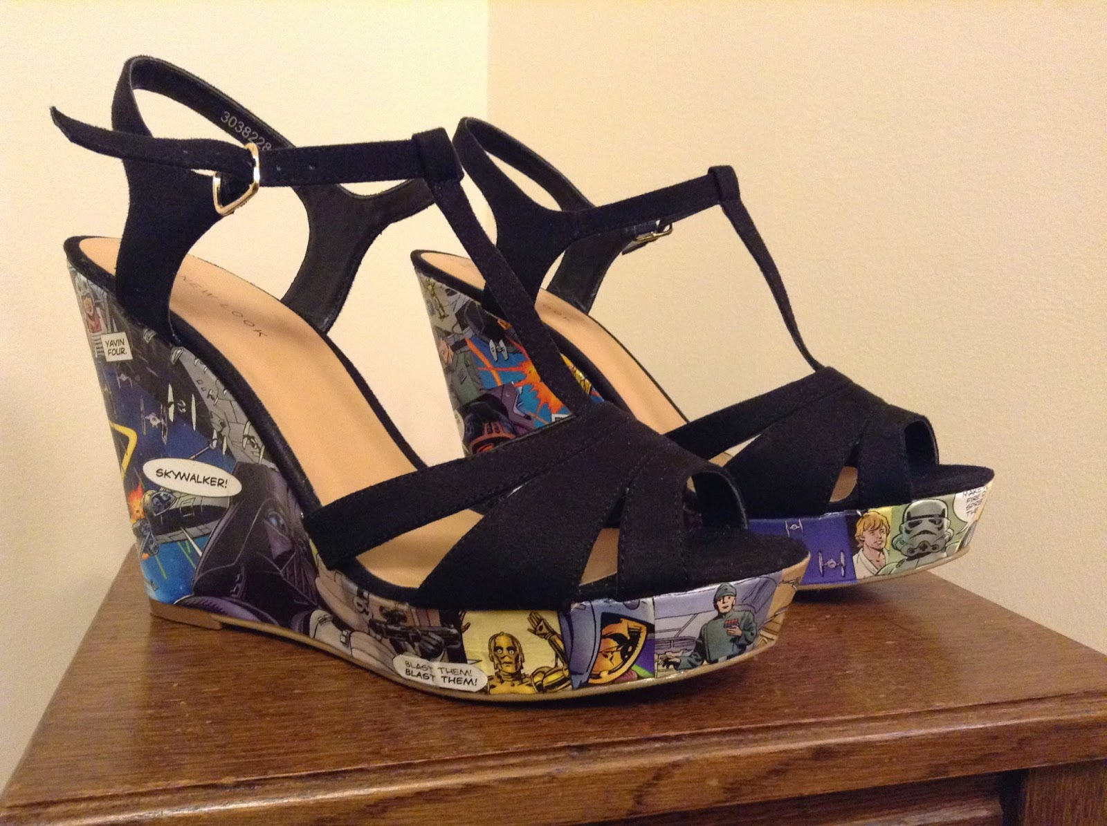 Star Wars heel shoes
