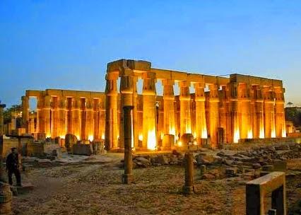 The Beautiful #Luxor Temple