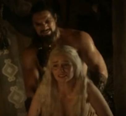 daenerys targaryen sex scene