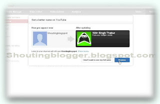 Switch from YouTube username to a Google+ profile