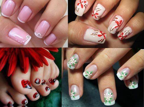Desenhos para decorar as unhas