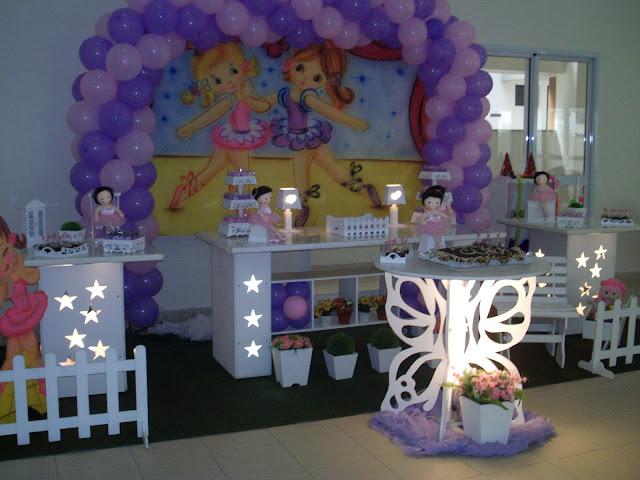 decoração provençal - tema Bailarinas