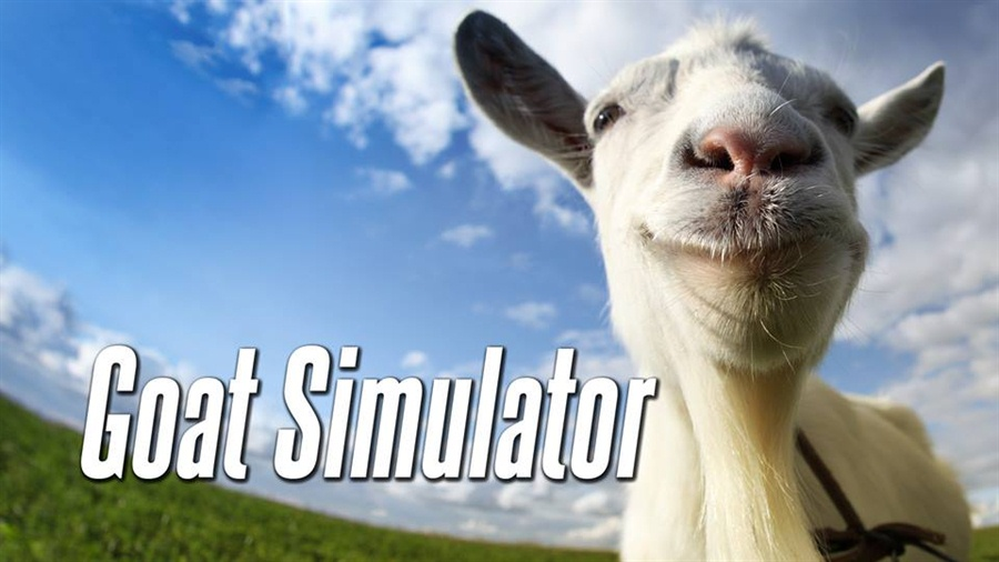 Goat Simulator Free Download Poster