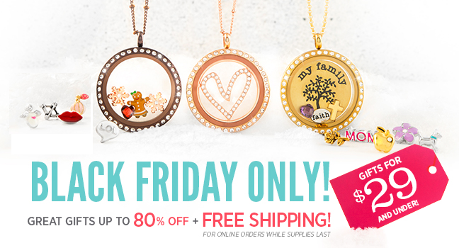 Origami Owl Black Friday Only Deal! | Shop StoriedCharms.com