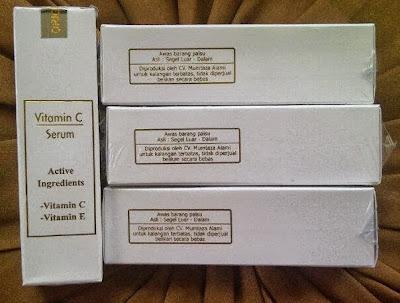 Serum Vitamin C Dan E ASLI (Mengandung Parfum Herbal Dan Vitamin C Paling Stabil)