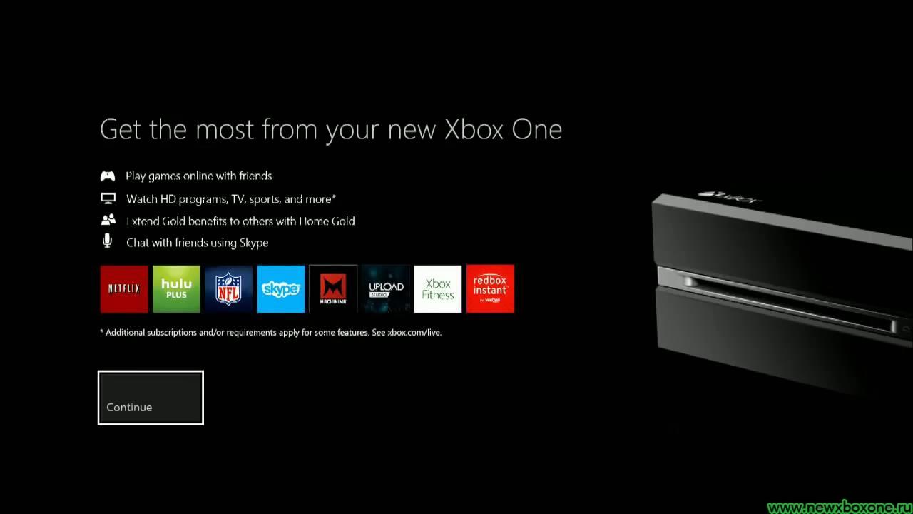 Инструкция #0: настройка xbox one (первое.