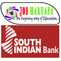 recruitment news about job in bank in south indian bank on the base of degree