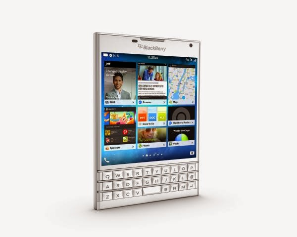 BlackBerry Passport warna Putih