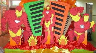 Decoracion de Fiestas Infantiles con Iron Man