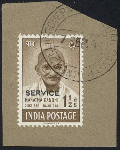 gandhi stamps club india stamps used abroad