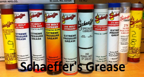 schaeffer grease