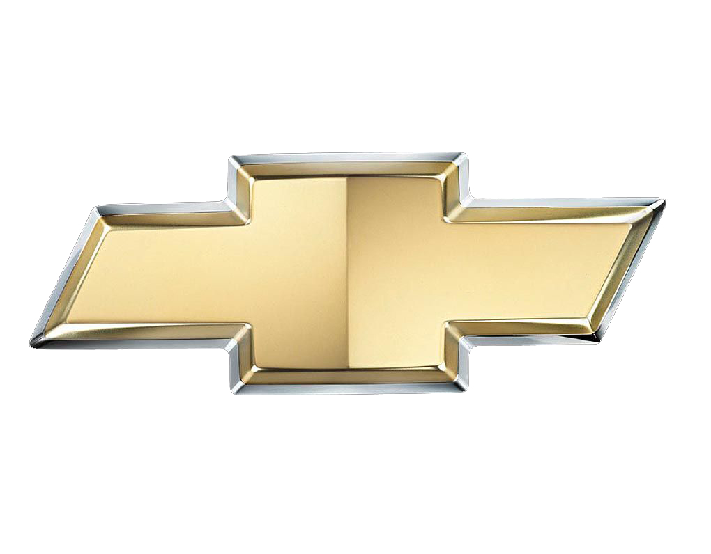 the chevrolet logo is one we