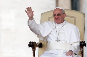 Bien venido, Papa Francisco.